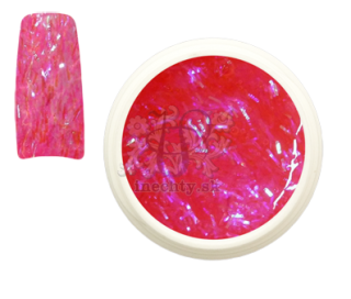 Glitrový UV gél Sticky Neon Pink 5ml