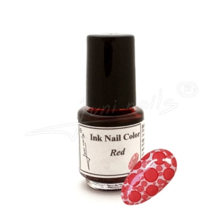 Ink Nail Color Red 4,5ml