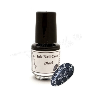 Ink Nail Color Black 4,5ml