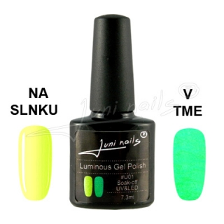 Juninails Gellak Luminous 01 7,3ml